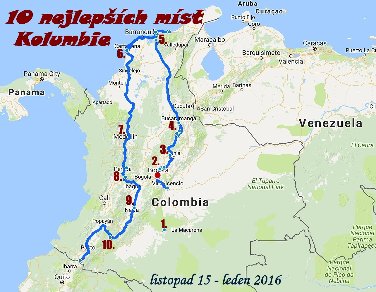 10 Nejlepsich Mist Kolumbie Pro Kazdeho Natura Linda Com